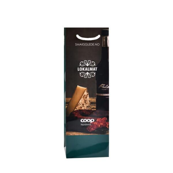 Flaskeposer med trykk   Poser   SKG - Spesialister innen profilert emballasje