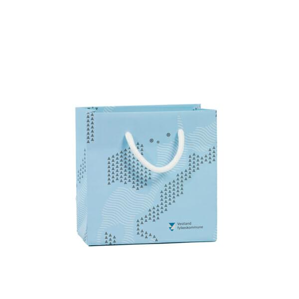 Eksklusiv papirpose med trykk | Poser | SKG - Spesialister innen profilert emballasje