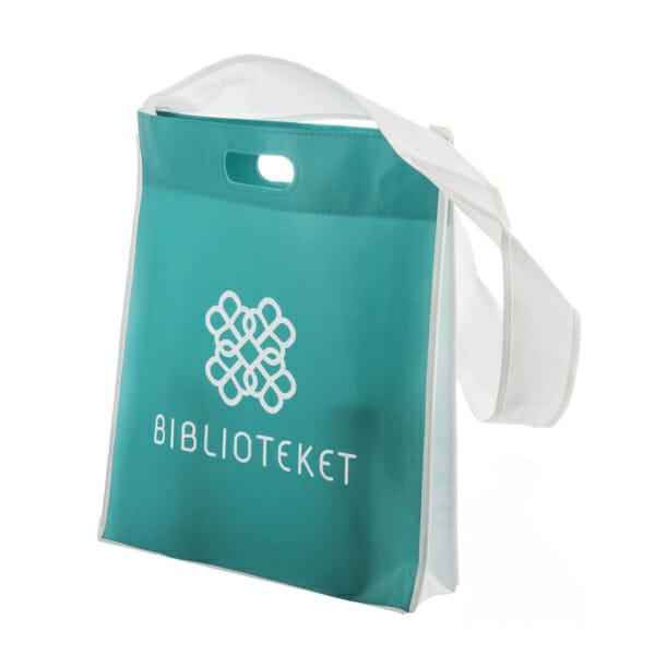 Skulderbag med trykk | Handlenett | SKG - Spesialister innen profilert emballasje