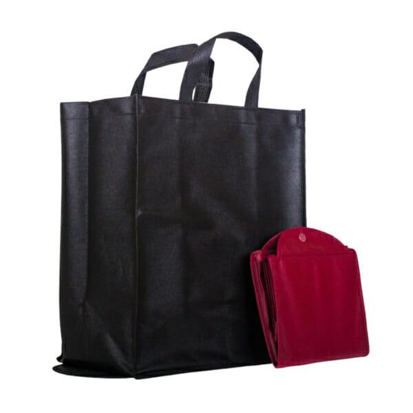 Sammenleggbar nett med trykk | Handlenett | SKG - Spesialister innen profilert emballasje