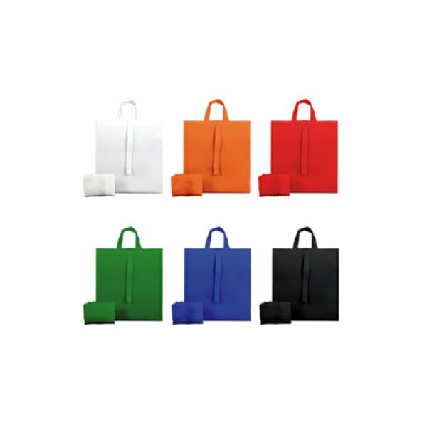 Sammenleggbar POP-nett med trykk - Fargekart| Handlenett | SKG - Spesialister innen profilert emballasje