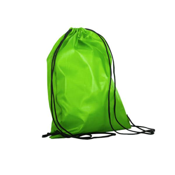 Gymbag med snøring med trykk i polyester | Handlenett | SKG - Spesialister innen profilert emballasje