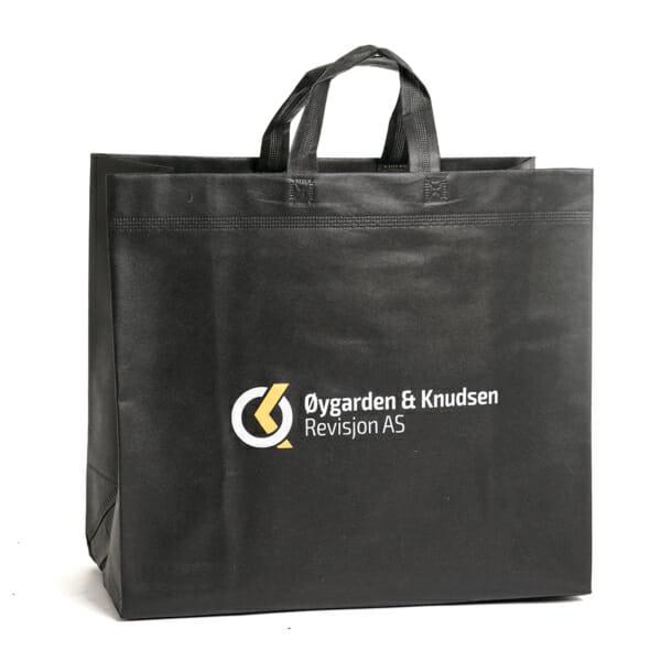 Romslig økonominett med logo til flere permer | Handlenett | SKG - Spesialister innen profilert emballasje