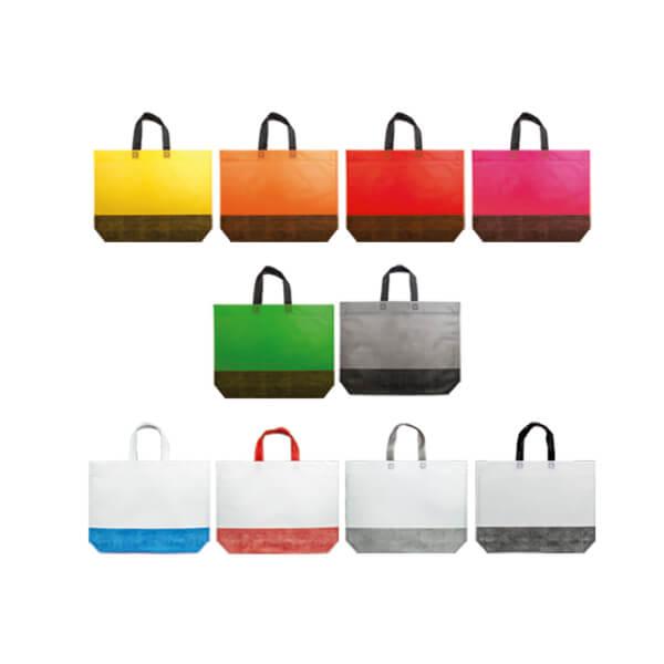 Laminert shopper Swing med trykk og lang hank | Handlenett | SKG - Spesialister innen profilert emballasje