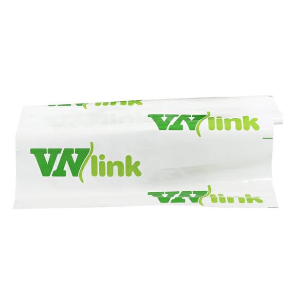 Plastfolie med logo på rull | Fraktemballasje | SKG - Spesialister innen profilert emballasje
