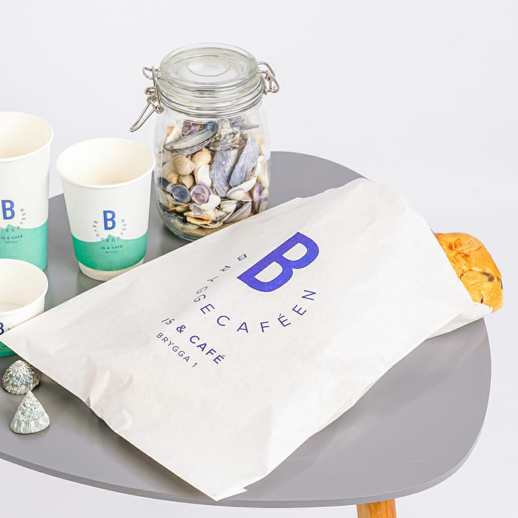 Brødpose med trykk | Bakeri | SKG - Spesialister innen profilert emballasje