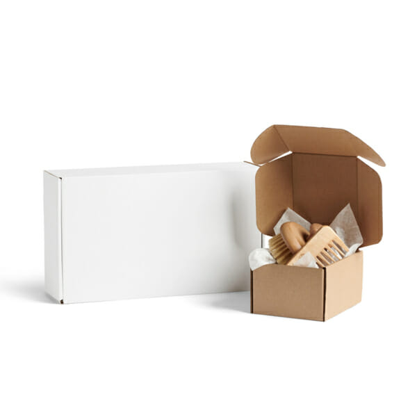 Frakteske med trykk | Fraktemballasje | SKG - Spesialister innen profilert emballasje