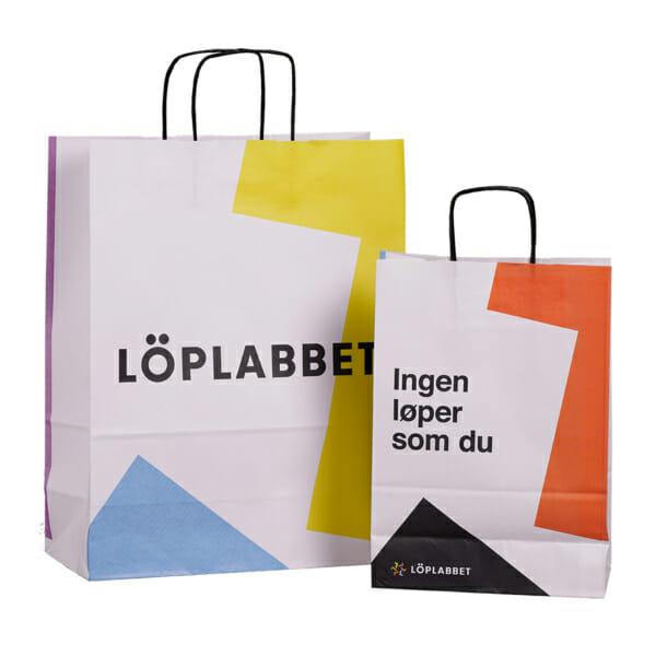 Papirpose med trykk | SKG - Spesialister innen profilert emballasje