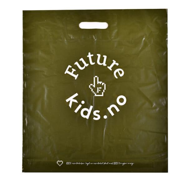 Plastposer med trykk resikulert | Poser | SKG - Spesialister innen profilert emballasje