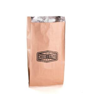 Grill- og sjømatpose i aluminium med logo | SKG - Spesialister innen profilert emballasje