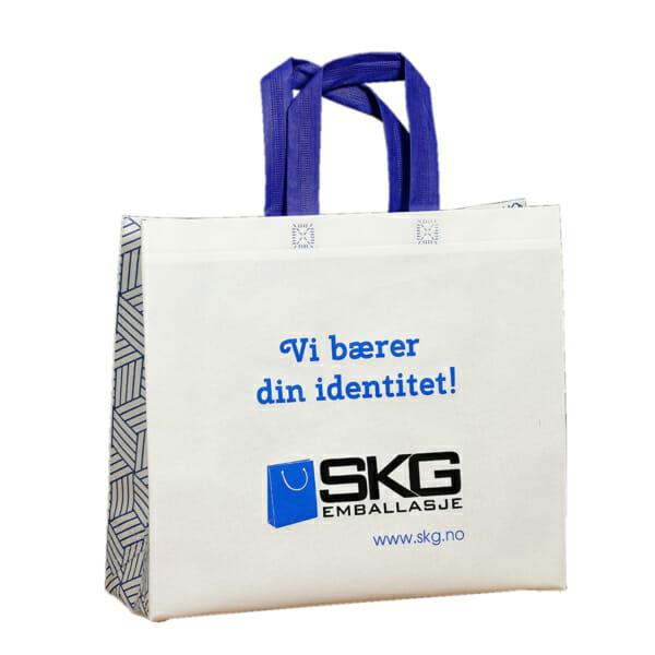 Printet designnett med logo | Handlenett | SKG - Spesialister innen profilert emballasje