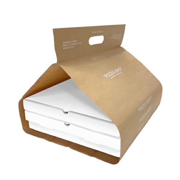 Pizzabag med logotrykk   Take Away   SKG - Spesialister innen profilert emballasje