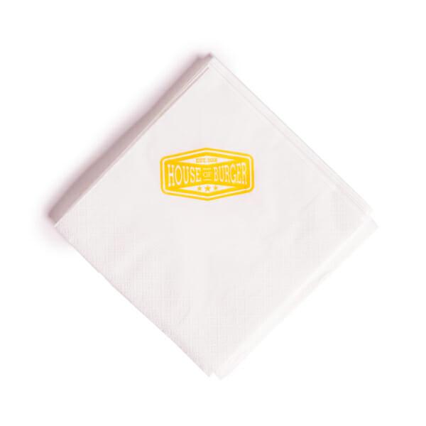 Servietter med trykk   Take Away   SKG - Spesialister innen profilert emballasje