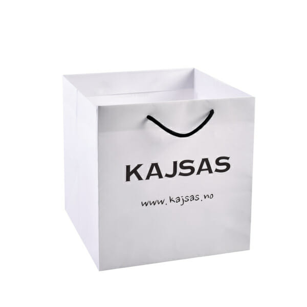 Eksklusiv papirpose til Take Away sushi med logo   Poser   SKG - Spesialister innen profilert emballasje