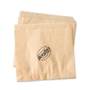 Hamburgerlommer i papir med trykk | Take Away | SKG - Spesialister innen profilert emballasje | Take