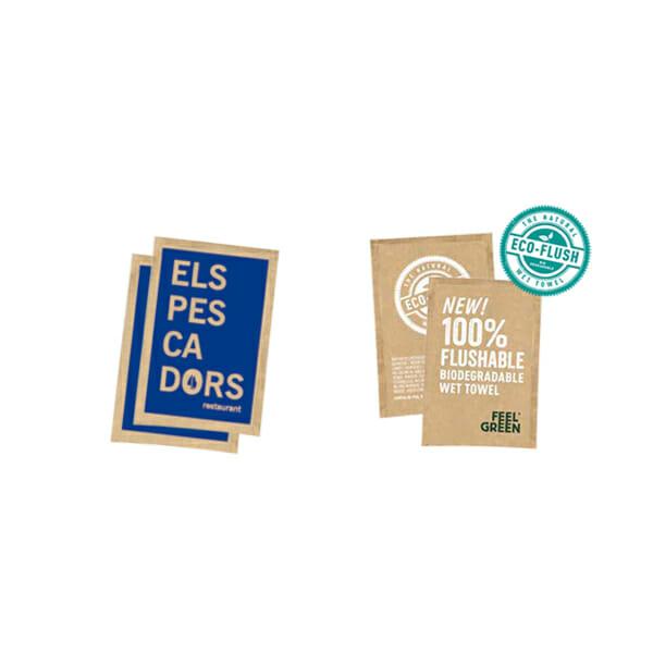 Våtservietter med trykk | SKG - Spesialister innen profilert emballasje