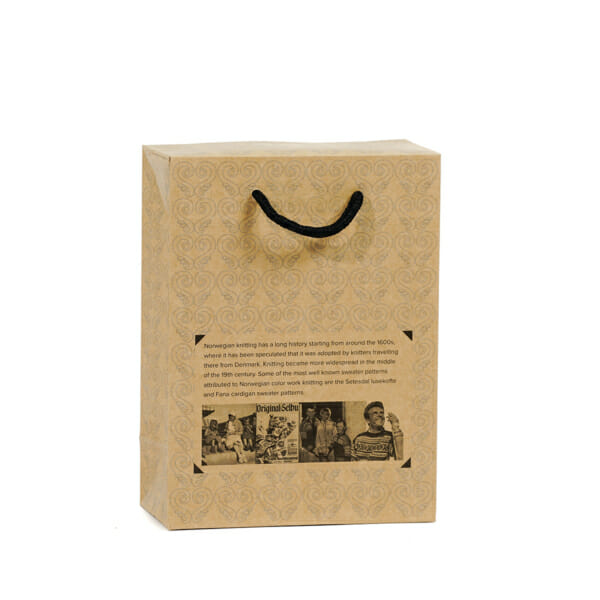 Gaveeske bagbox med trykk | SKG - Spesialister innen profilert emballasje