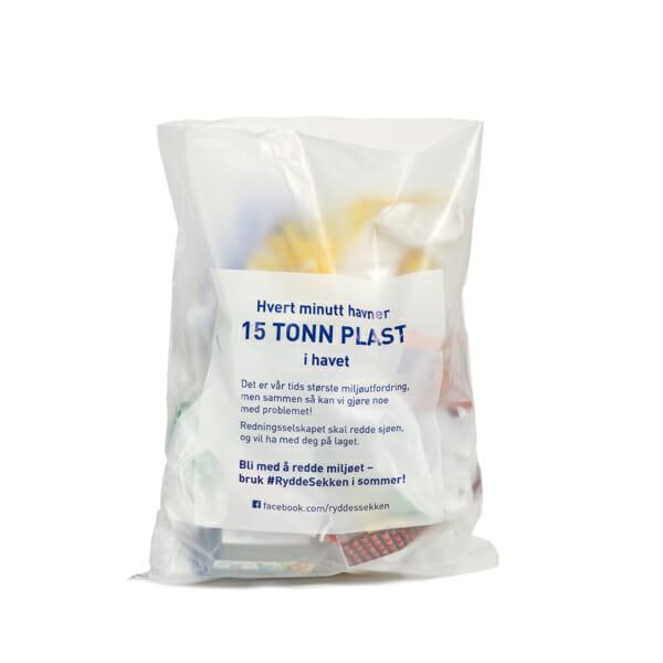 Plastsekk med trykk | SKG - Spesialister innen profilert emballasje