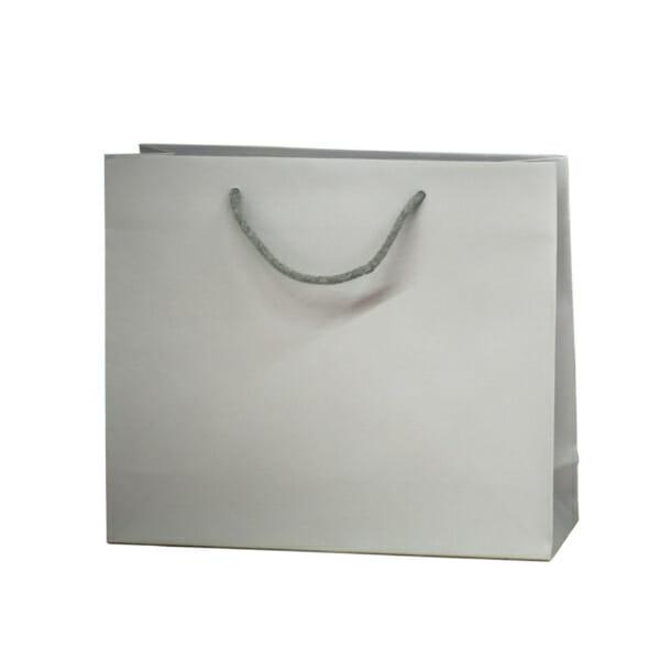 Eksklusiv papirpose uten logo turkis | Nettbutikk | Kort levering på 2-3 dager fra lager