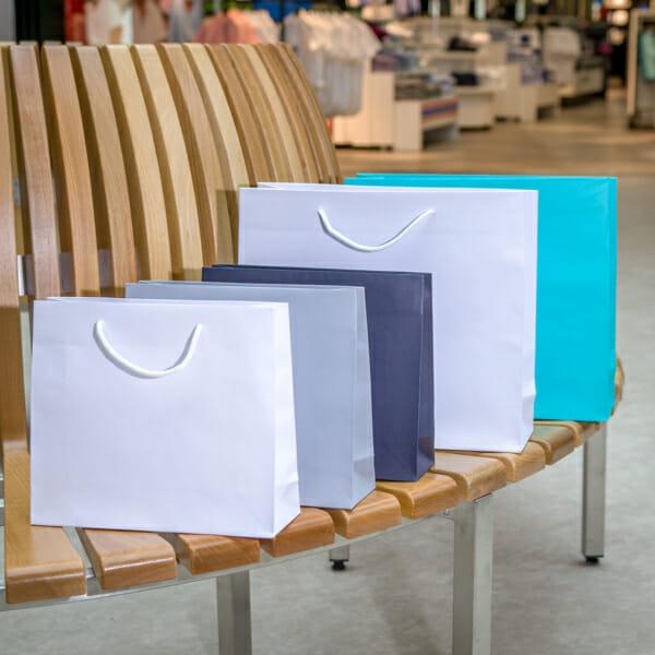 Eksklusive papirposer uten logo | Nettbutikk | Kort levering på 2-3 dager fra lager