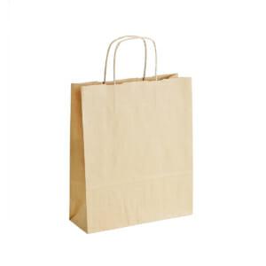 Papirpose uten logo i brun kraft | Nettbutikk | Kort levering på 2-3 dager fra lager | SKG - Spesialister innen profilert emballasje