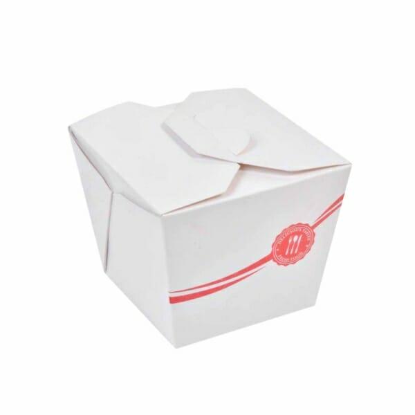 Asia og pasta eske med logo | Take Away | SKG - Spsialister innen profilert emballasje