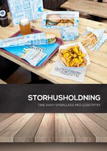 Katalog Storhusholdning | Take away emballasje med logotrykk | Storhusholdning | Profilert matemballasje