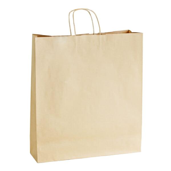 Papirposer uten logo i brunt kraftpapir | Nettbutikk | Kort levering på 2-3 dager fra lager | SKG - Spesialister innen profilert emballasje