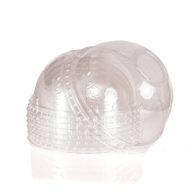 Plastlokk med hull 95 mm | Nettbutikk fra lager | SKG - Spesialister innen profilert emballasje