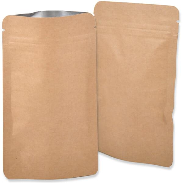 Ståbunnposer med lynlås og trykk | Poser | SKG - Spesialister innen profilert emballasje